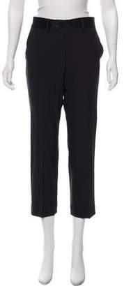 Helmut Lang Mid-Rise Straight-Leg Pants