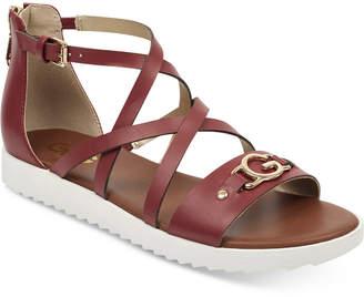G by Guess Karin Flat Sandals Women Shoes