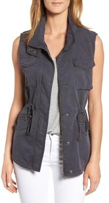 Women's Caslon Utility Vest $79 thestylecure.com