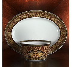 """Rosenthal Meets Versace Versace by Medusa"""" Vegetable Dish, Small"""