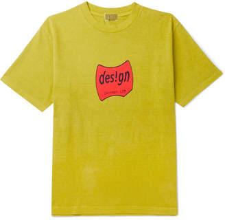 Cav Empt Design Printed Cotton-Jersey T-Shirt