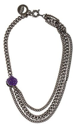 Giles & Brother Multistrand Shell Cabochon Necklace w/ Tags $75 thestylecure.com
