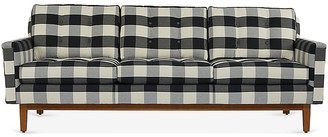 One Kings Lane Allan Sofa - Black Gingham