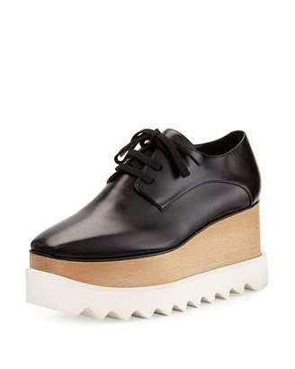 Stella McCartney Elyse Platform Oxford, Black $995 thestylecure.com