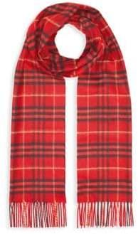 Burberry Tonal Vintage Check Cashmere Scarf