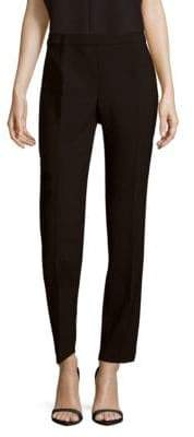 Carolina Herrera Solid Virgin Wool-Blend Pants