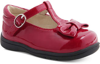 Nina Mobility By Cruz T-Strap Bow Shoes, Baby & Toddler Girls