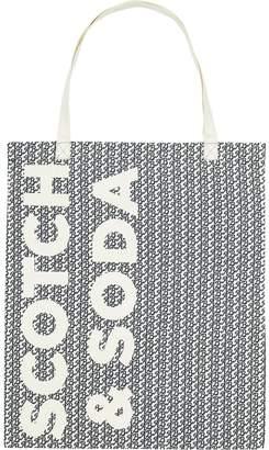 Scotch & Soda Monogram Tote Bag