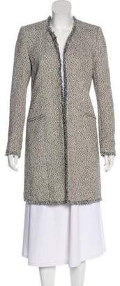 Magaschoni Textured Knee-Length Coat