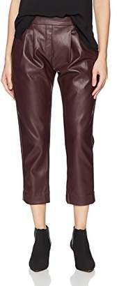 Catherine Malandrino Women's Landon Pants-Leather