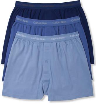 Calvin Klein Men's Classic Knit Boxers 3-Pack NU3040