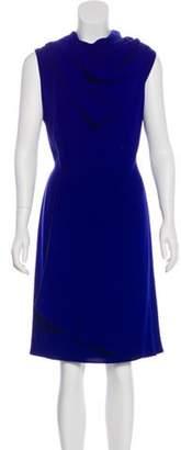 Oscar de la Renta Silk Sheath Dress Silk Sheath Dress