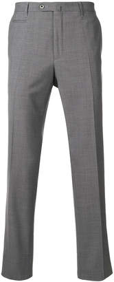 Corneliani slim fit suit trousers