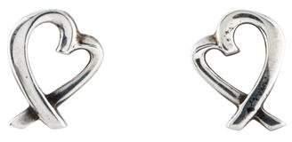 Tiffany & Co. Loving Heart Stud Earrings