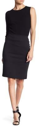 14th & Union Black Ponte Skirt (Regular & Petite)