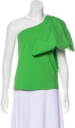 Rosie Assoulin Sleeveless One-Shoulder Top