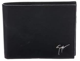 Giuseppe Zanotti Leather Logo Wallet