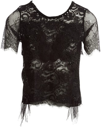 Loyd/Ford Black Cotton Top for Women