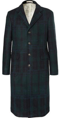 Massimo Alba Checked Virgin Wool Coat