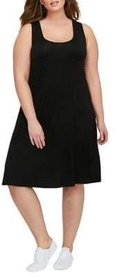 Addition Elle Michel Studio Plus Swing Tank Dress