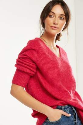 Cotton On Vinnie V Neck Luxe Pullover