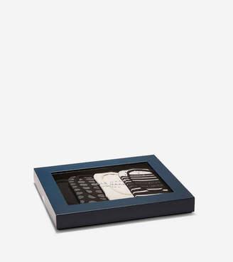 Cole Haan Printed Stripe-Dot Sock Liners - 4 Pack
