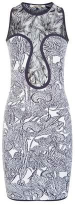 Roberto Cavalli Floral Mini Dress