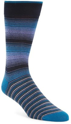 Men's Bugatchi 'Ombre Stripe' Socks $19.95 thestylecure.com