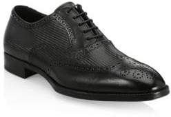 Giorgio Armani Leather Wingtip Brogues