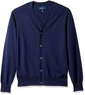 Buttoned Down Men's Supima Cotton Lightweight Cardigan Sweater
