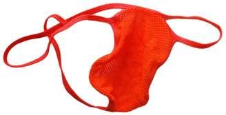Something Wild in California (SWIC) SWIC Men's G String Thong Stretchy Fish Net Bright