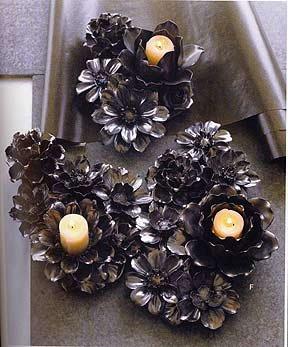 Roost Flower Tealight Candelabra