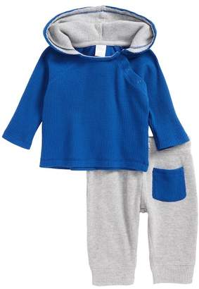 Nordstrom Thermal Hooded T-Shirt & Pants Set (Baby Boys)
