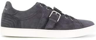 Dolce & Gabbana logo buckle strap sneakers