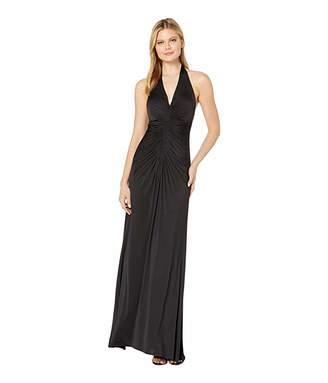 Jill Stuart Jersey Ruched Gown