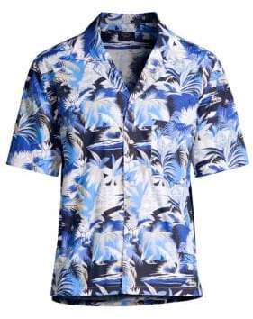 Paul & Shark Printed Short-Sleeve Shirt