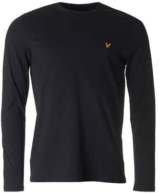 Lyle & Scott Long Sleeved Crew Neck T-shirt