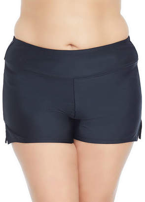 ST. JOHN'S BAY Boyshort Swimsuit Bottom-Plus