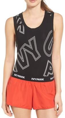 Ivy Park Broken Logo Bodysuit $52 thestylecure.com