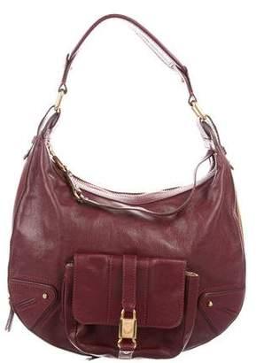 Marc Jacobs Leather Zip Hobo