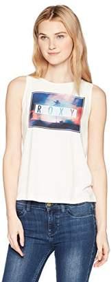Roxy Junior's Ice Cream Neon Tank Top
