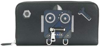 Prada robot continental wallet