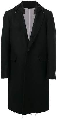 Diesel frayed edge coat