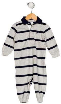 Ralph Lauren Boys' Striped All-In-One