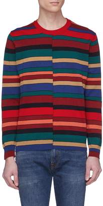 Paul Smith Staggered stripe sweater