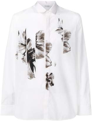 Neil Barrett sliced anemone print shirt