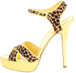 Laurence Dacade Sandals $175 thestylecure.com