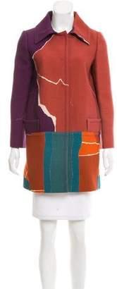 Alberta Ferretti Patterned Short Coat
