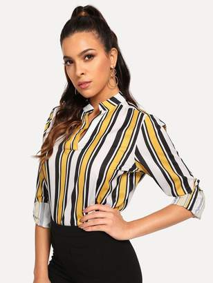 Women Vertical Striped Tops - ShopStyle c0bc2eafd