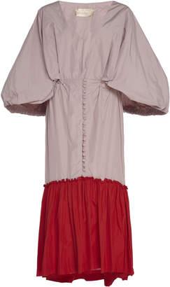 By Efrain Mogollon Pietri Silk-Taffeta Dress Size: 2